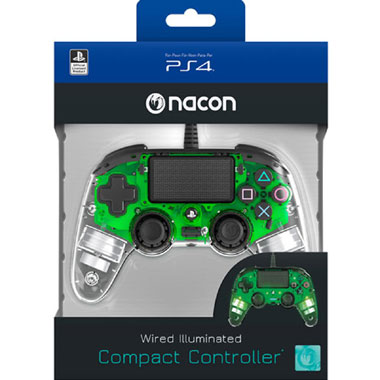 PS4 Official Wired LED Controller - groen