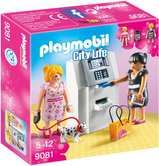 PLAYMOBIL 9081 City Life Geldautomaat