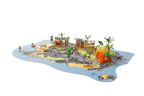 PLAYMOBIL Playcarpet Speelkleed - ISLAND