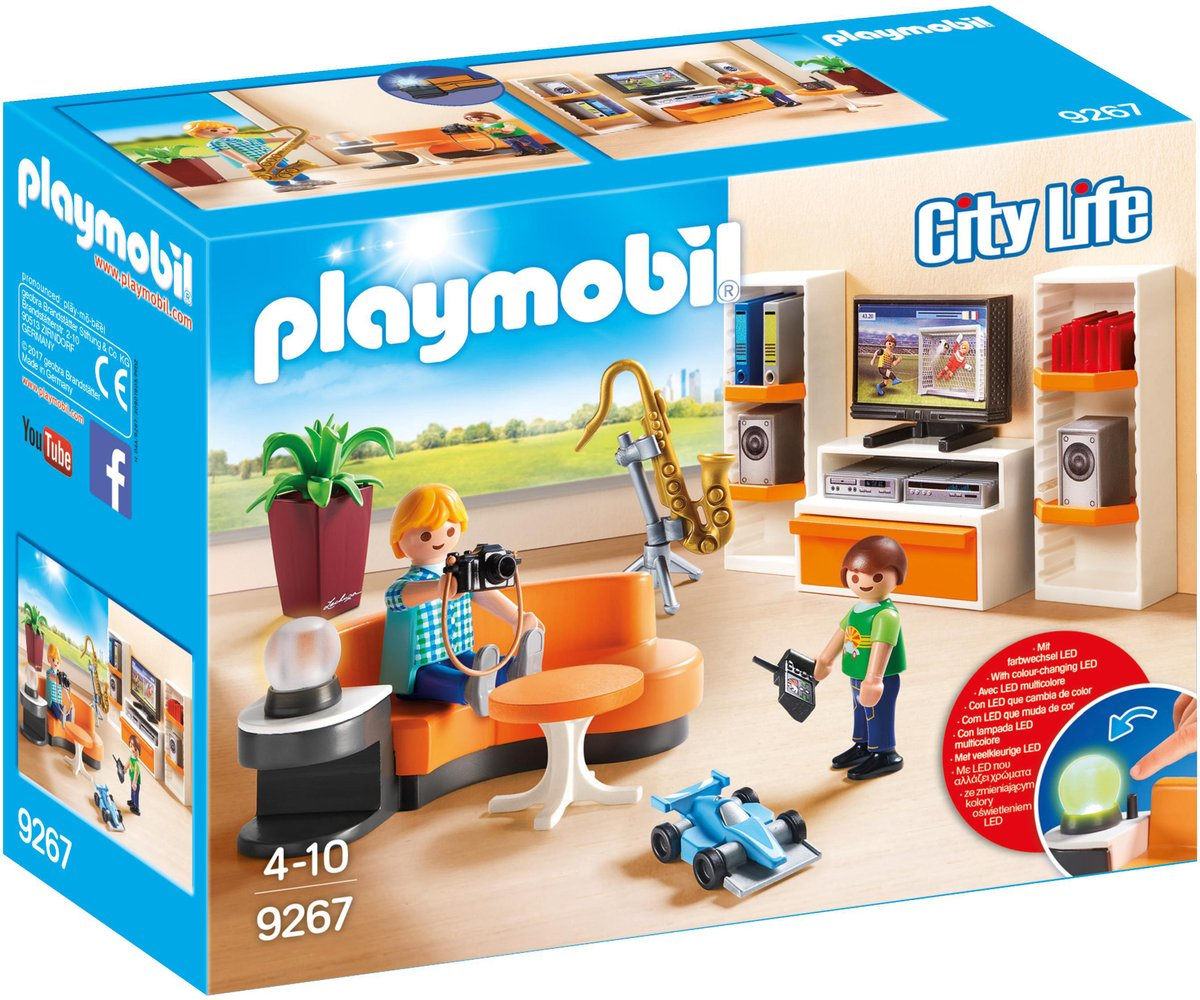 9267 PLAYMOBIL City Life Salon