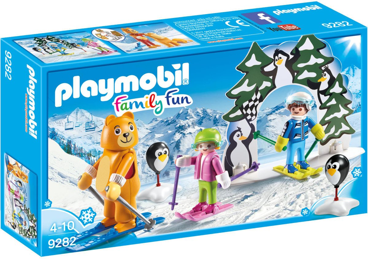 9282 PLAYMOBIL Family Fun Skischooltje