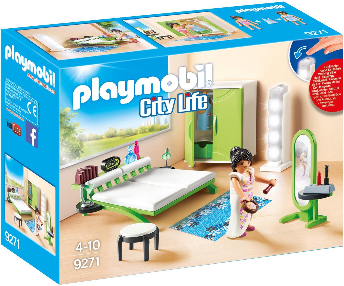 9271 PLAYMOBIL Slaapkamer met make-up tafel