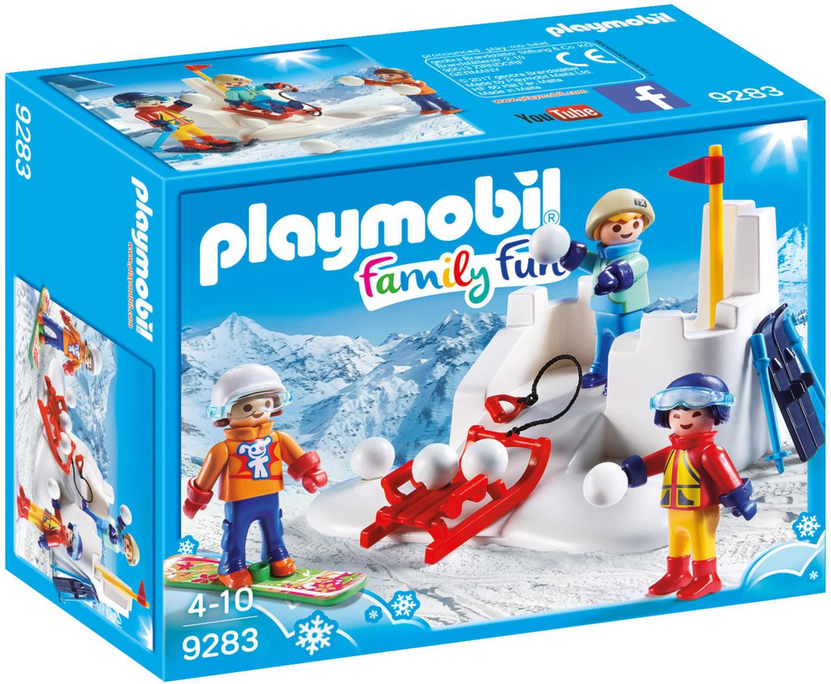 9283 PLAYMOBIL Family Fun Sneeuwballengevecht
