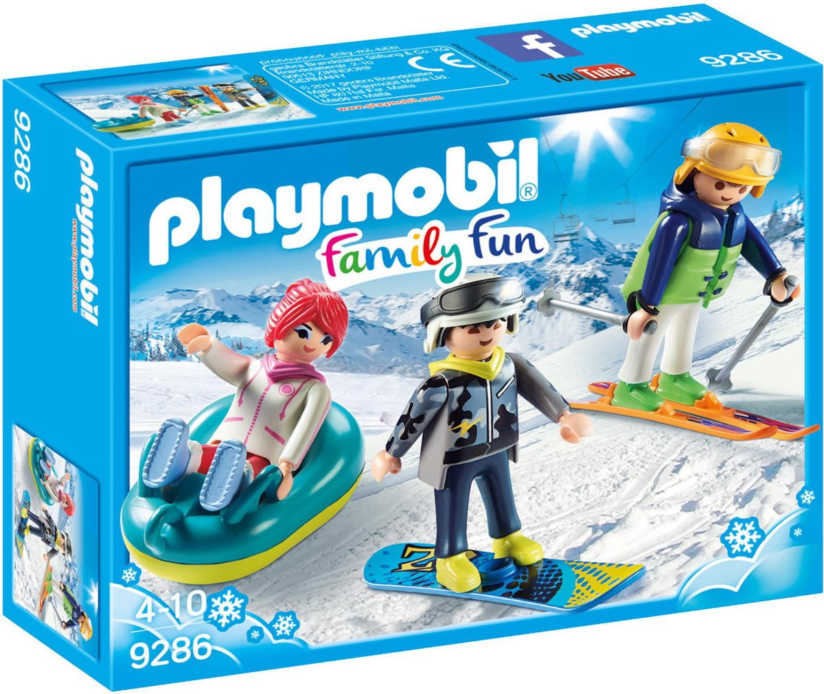 9286 PLAYMOBIL Wintersporters