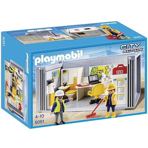 Playmobil City Action bouwcontainer - 5051
