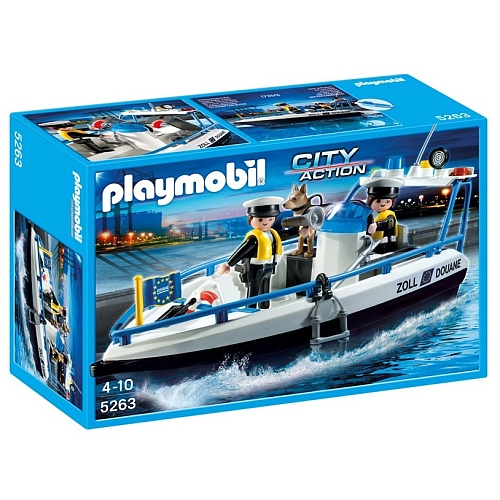 Playmobil City Action douaneboot - 5263