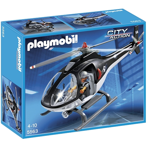 Playmobil City Action helikopter speciale interventie - 5563
