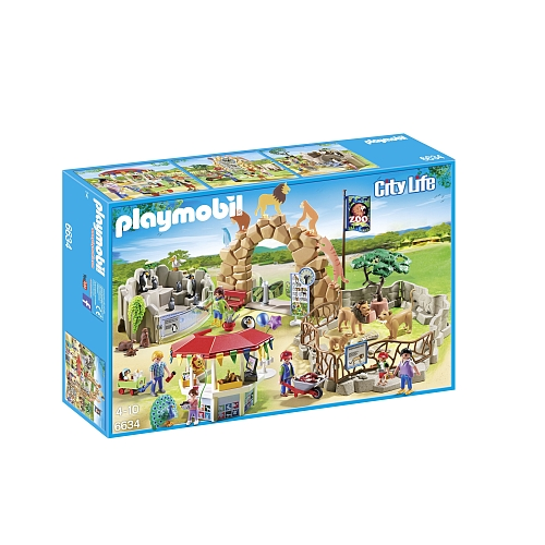 Playmobil City Life grote zoo 6634