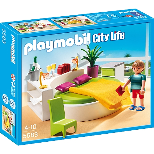Playmobil City Life slaapkamer met loungebed 5583