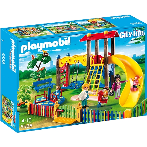 Playmobil City Life speeltuintje - 5568