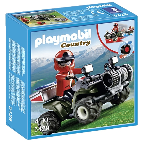 Playmobil Country reddingsquad in de bergen 5429