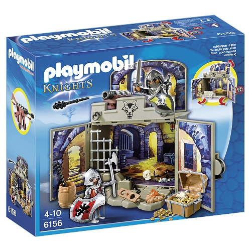 Playmobil Knights speelbox ridder schatkamer 6156
