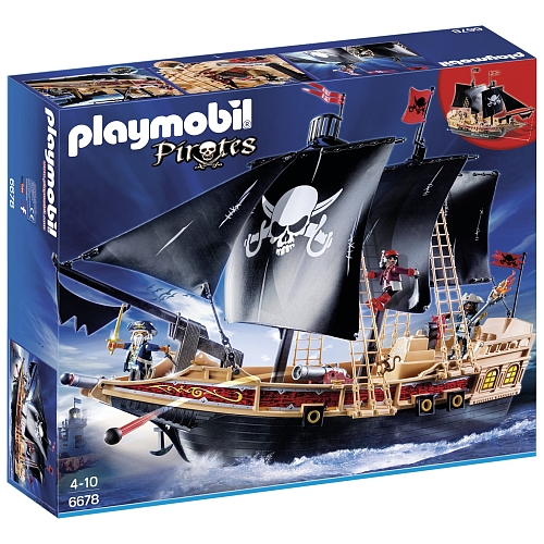 Playmobil Pirates piraten aanvalsschip - 6678