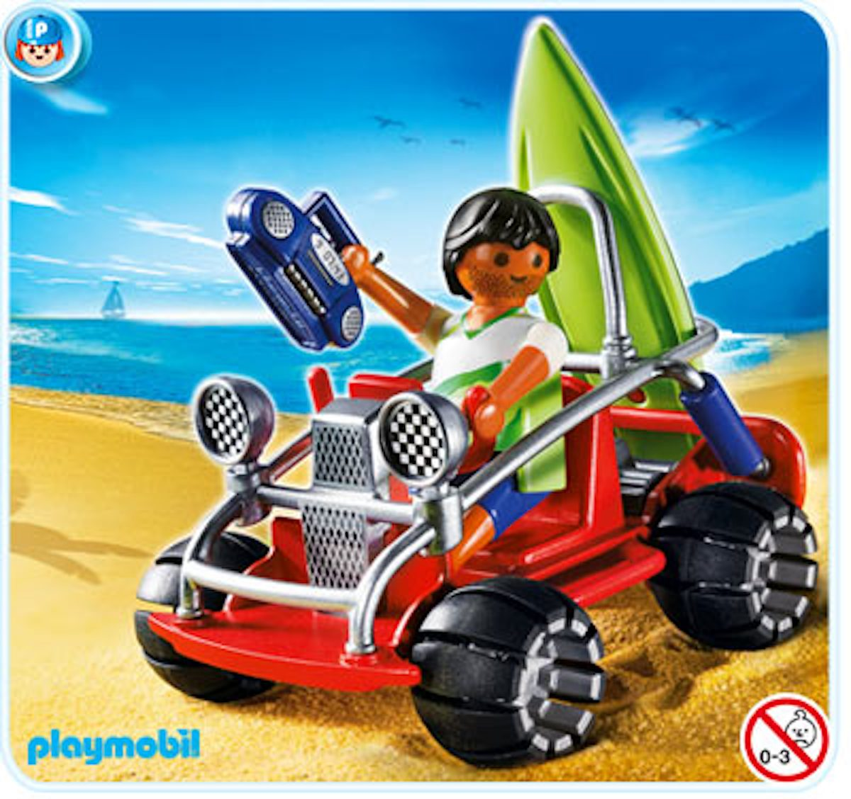 4863 Playmobil Strandbuggy