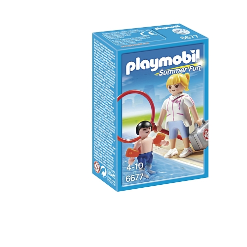 Playmobil Summer Fun badjuffrouw - 6677