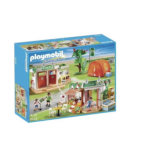 Playmobil Summer Fun grote camping 5432