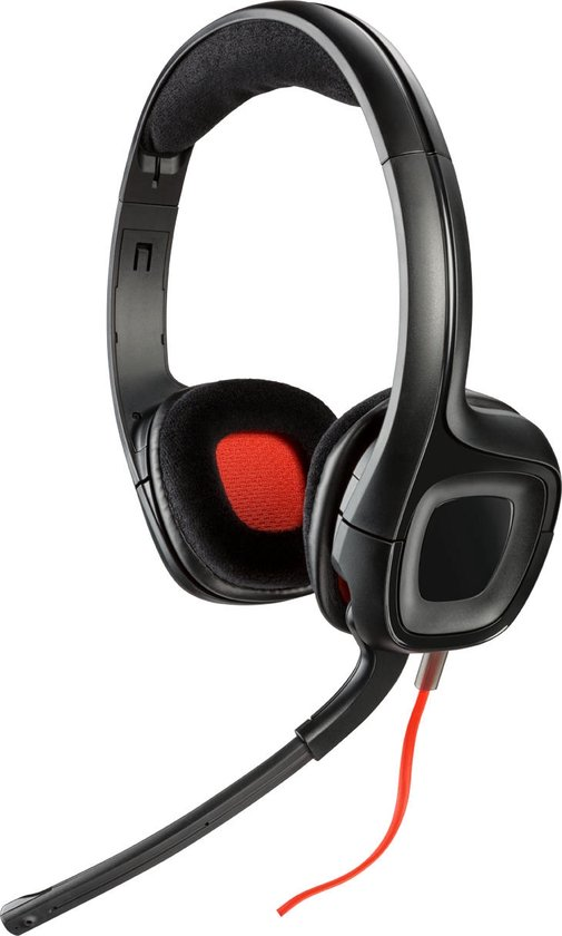 GameCom 318 Wired Stereo Gaming Headset - Zwart (PC) - Webcams & Audio