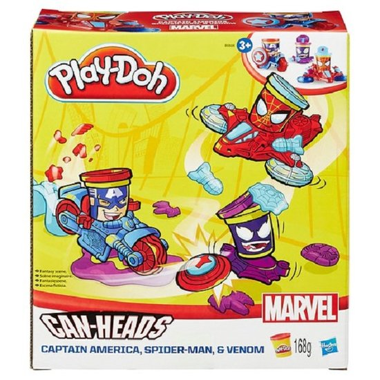 Play-Doh Marvel Cans Vehicle /Toys