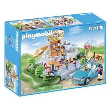 PLAYMOBIL City Life IJssalon 5644