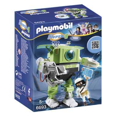 PLAYMOBIL Super 4 Cleano-Robot 6693