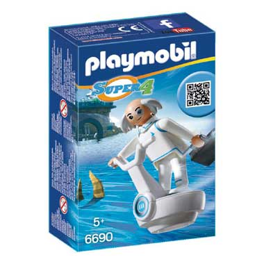 PLAYMOBIL Super 4 Professor X 6690