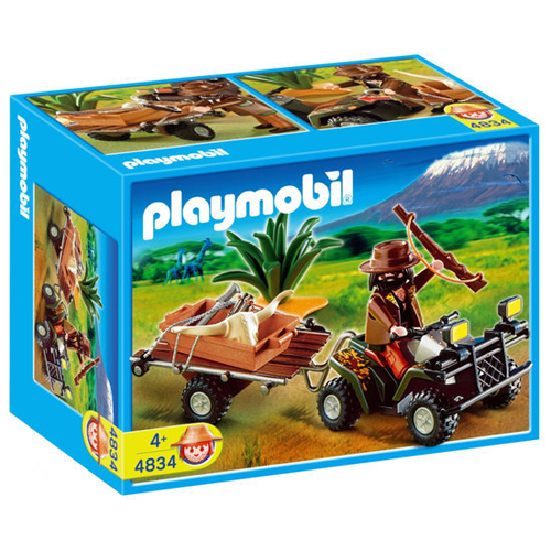 Playmobil 4834 Safari Quad
