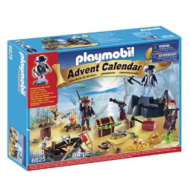 Playmobil 6625 Christmas Adventskalender Pirateneiland