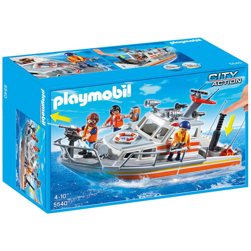 Playmobil City Action Brandbestrijdings- en Reddingsboot 5540