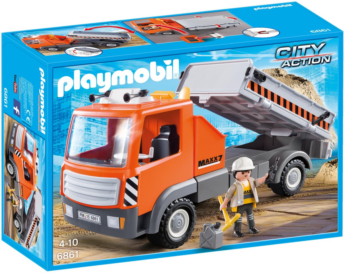 Playmobil City Action Kiepvrachtwagen - 6658