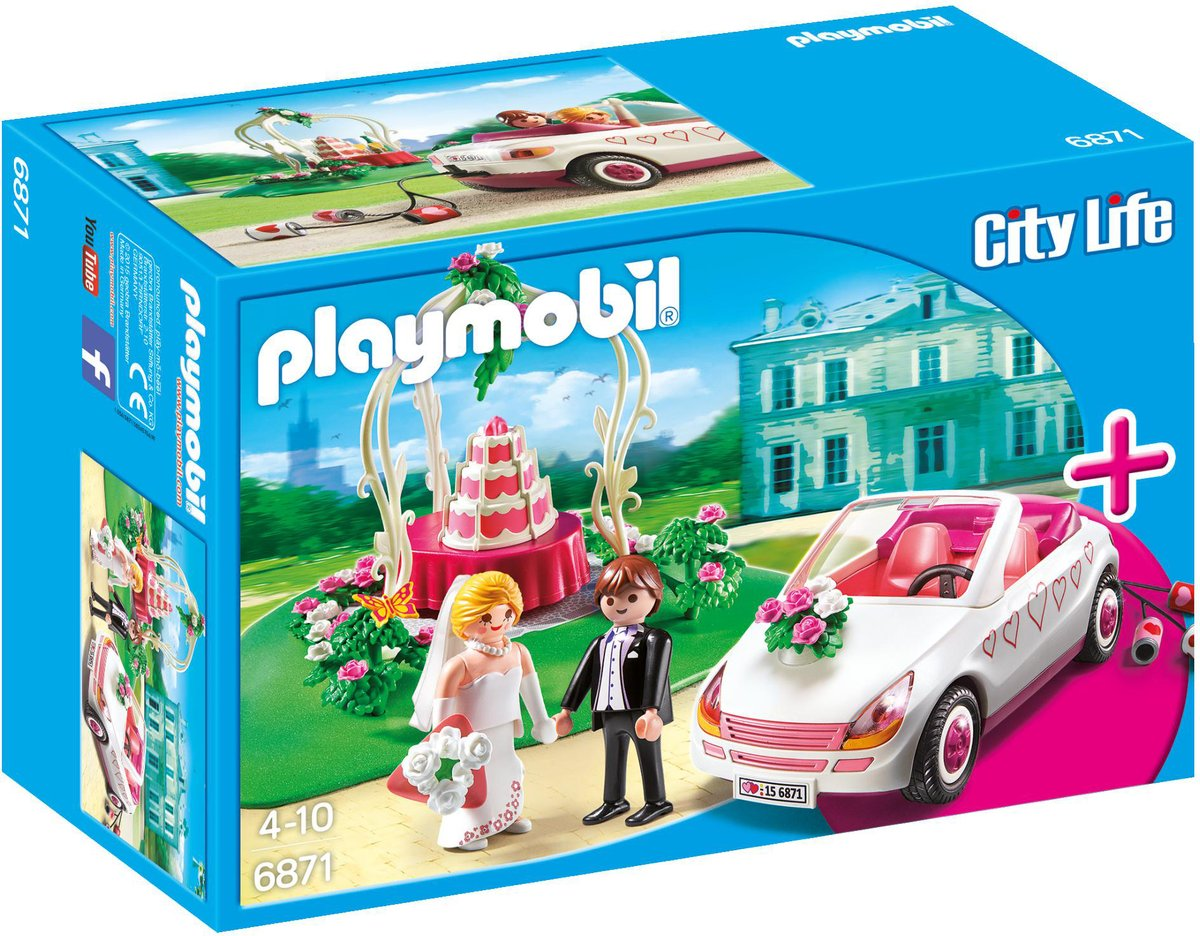 Playmobil City Life StarterSet Trouwpartij - 6890