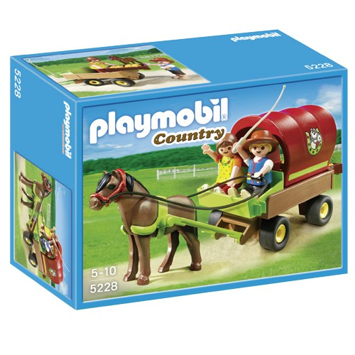 Playmobil Country 5228 Pony Met Huifkar