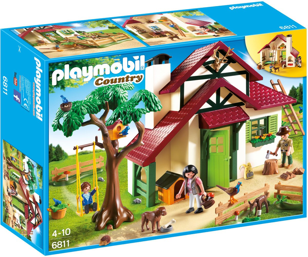 Playmobil Country Boswachtershuis - 6815