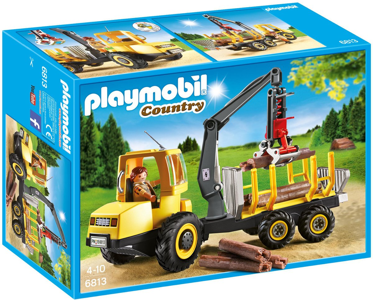 Playmobil Country Houttransport met kraan - 6813