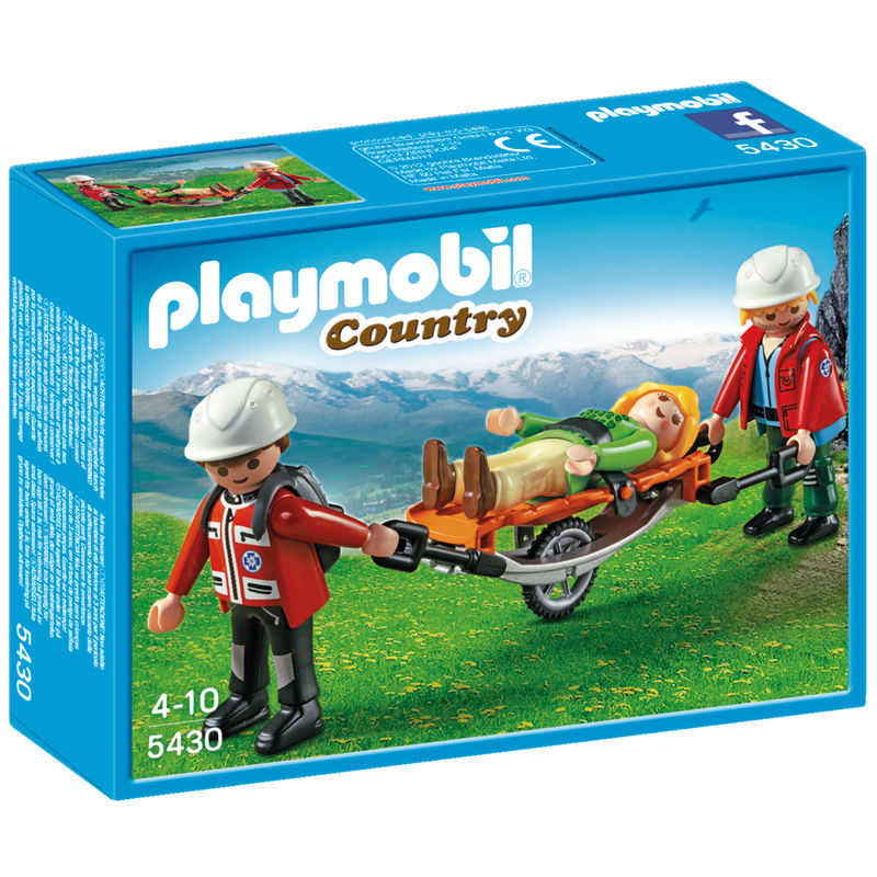 Playmobil Country Reddingsteam met brancard 5430