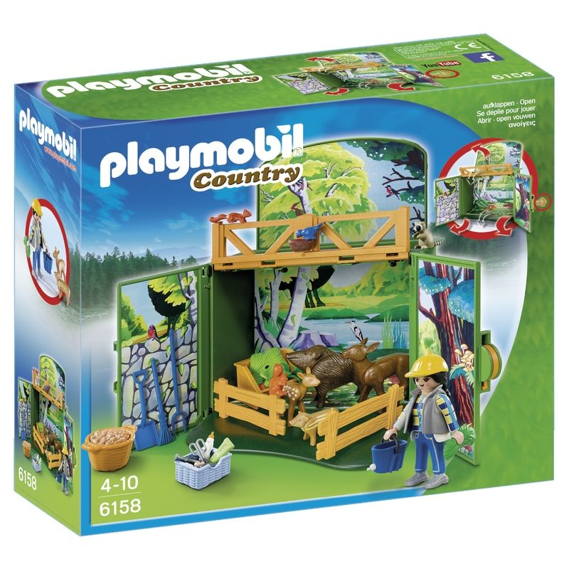 Playmobil Country Speelbox Leven in het Bos 6158