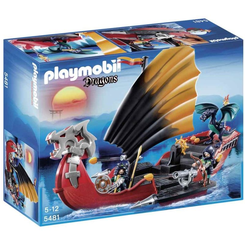 Playmobil Dragons Drakenslagschip 5481