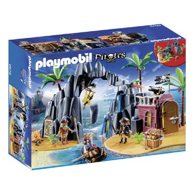 Playmobil Pirates piratenhol 6679