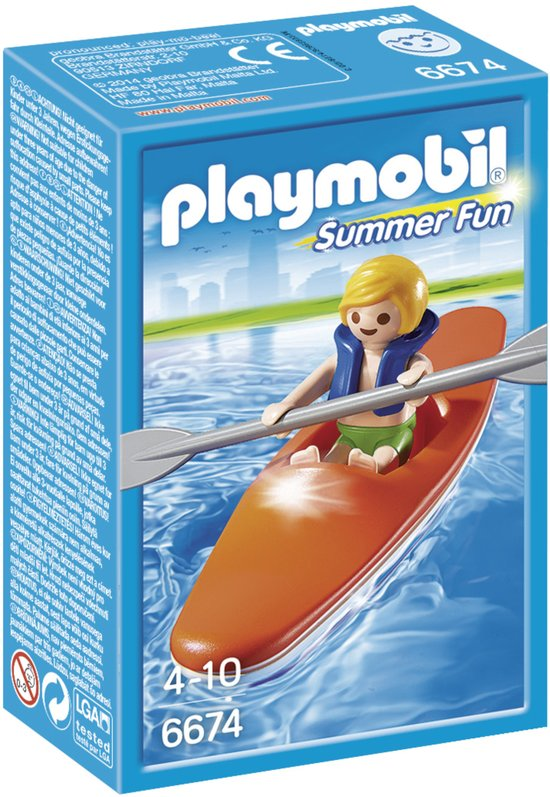 Playmobil Summer Fun Kinderkajak  - 6674