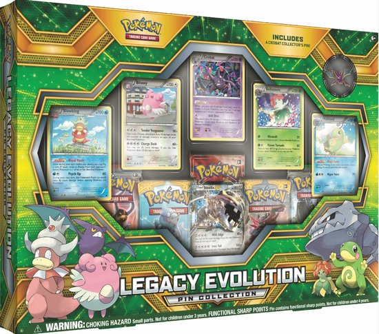 Legacy Evolution Pin Box