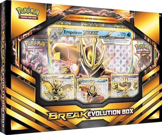 Trading Card Game Break Evolution Box Arcanine C12
