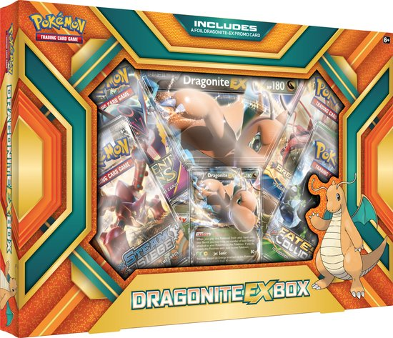 Trading Card Game Dragonite EX Box C12