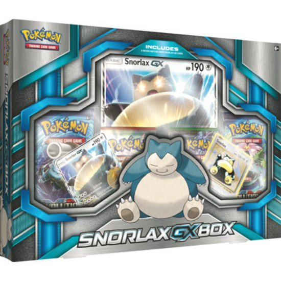 Trading Card Game Snorlax GX Box C12