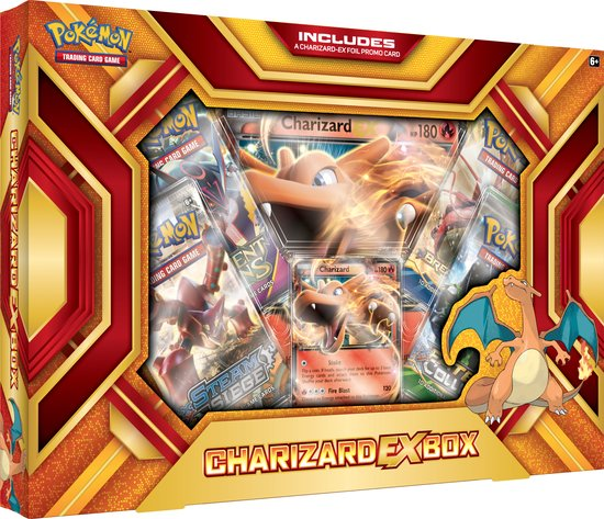 kaarten Trading Card Game Charizard EX Box C12