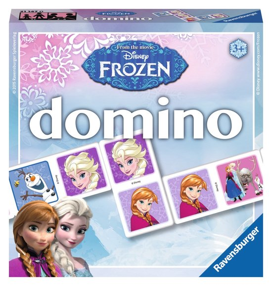 Frozen domino Ravensburger