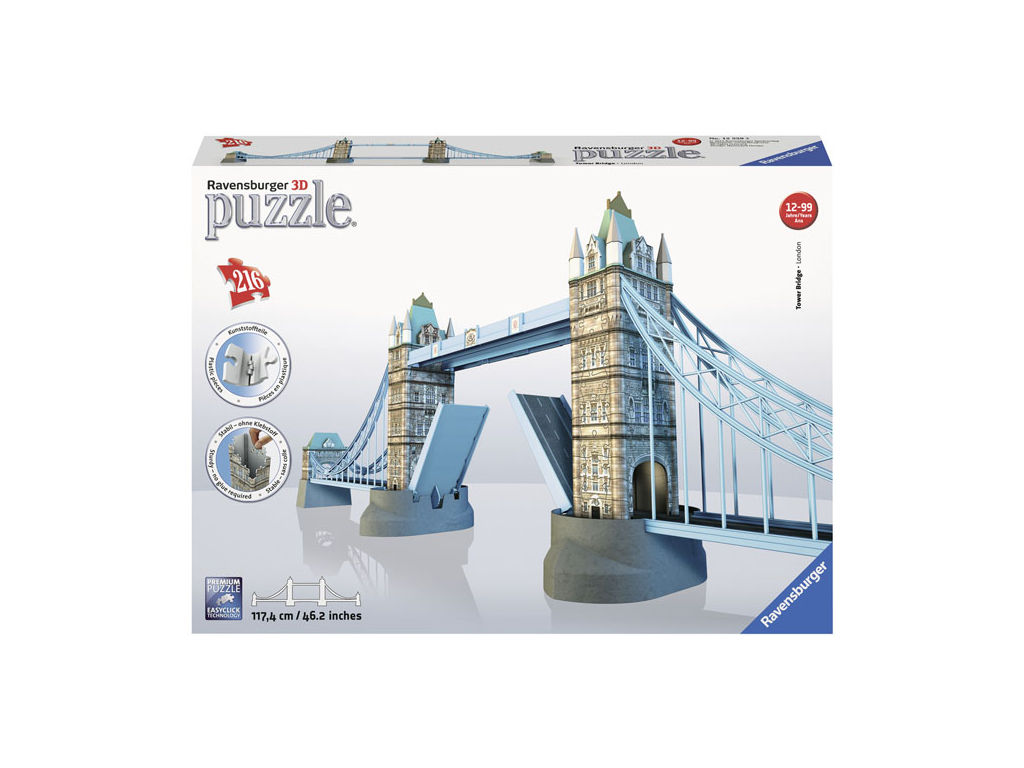 3D Puzzel Tower Bridge 216 stukjes