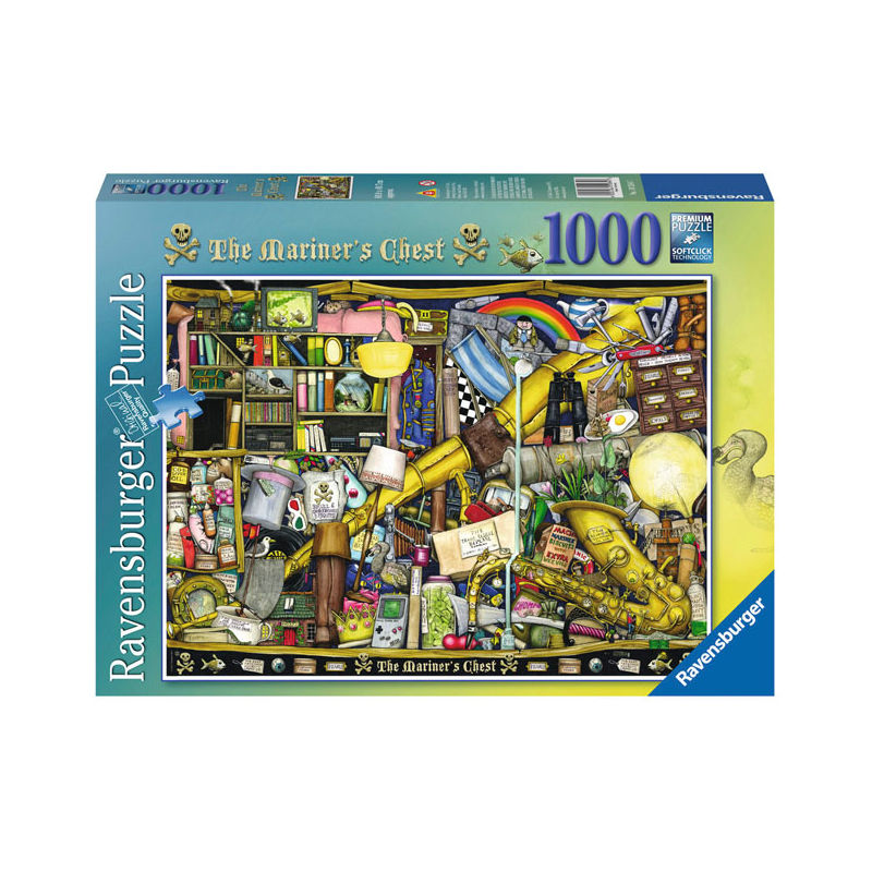 Ravensburger Colin Thompson: The Mariners Chest 1000 stukjes
