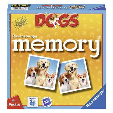 Ravensburger Family Memory Dogs