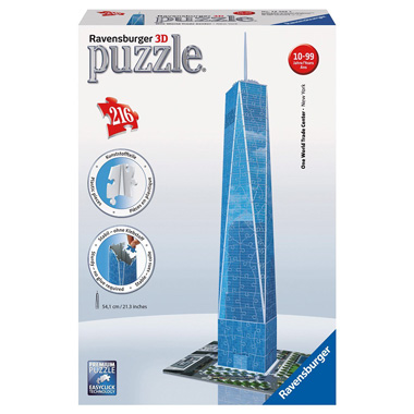 One World Trade Center 3D puzzel (216 stukjes)