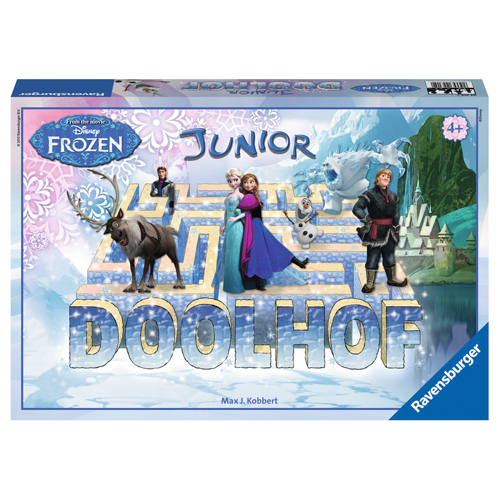 Ravensburger Spel Frozen Doolhof Junior