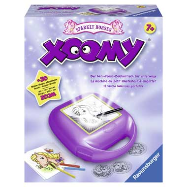 Xoomy Compact Sparkly Horses